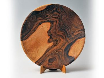 walnut-platter